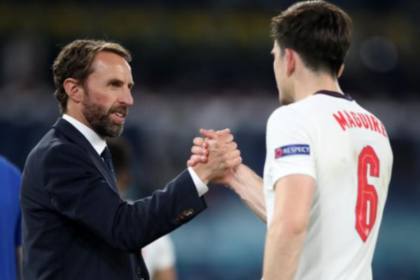 Harry Maguire thanks Gareth Southgate