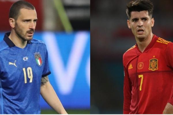 Euro 2020:Bonucci admire Morata