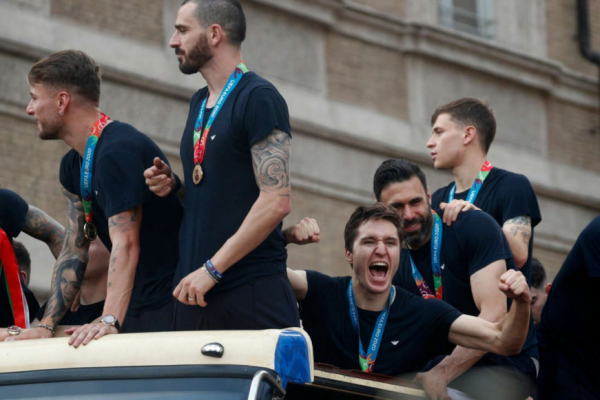 Euro 2020 named best team, Italy top 5